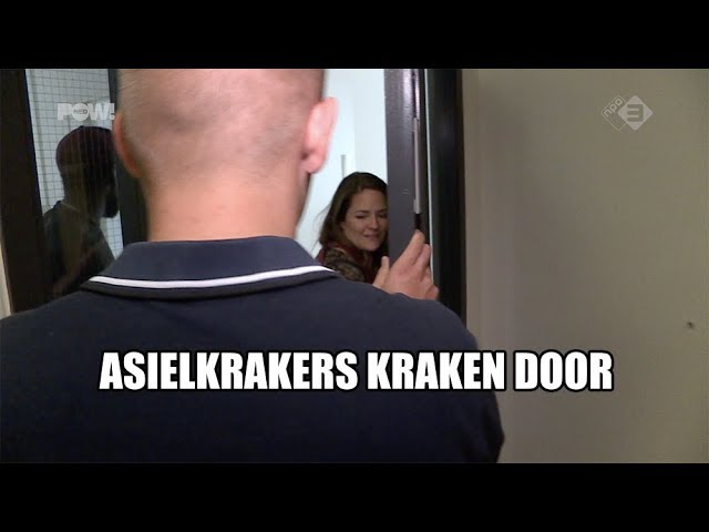 Asielkrakers kraken door