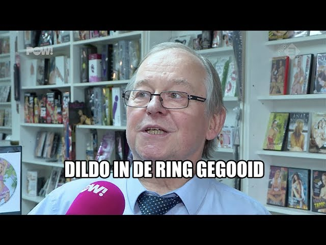Dildo in de ring gegooid