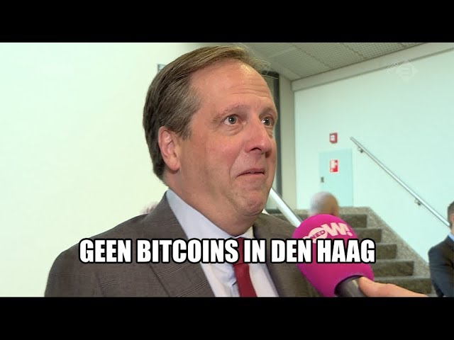 Geen cryptogekte in Den Haag